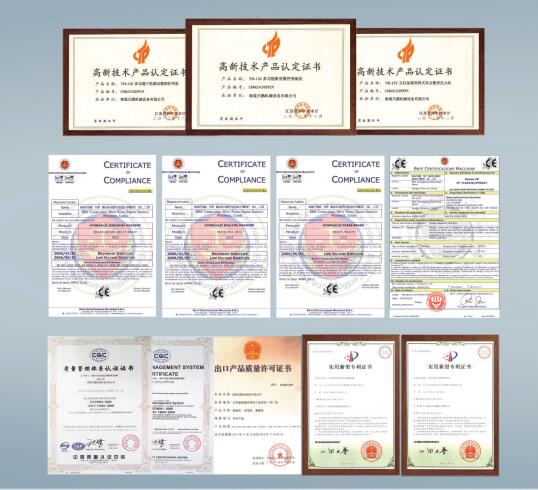Foto de certificados