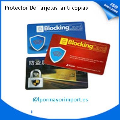 protector tarjetas logo