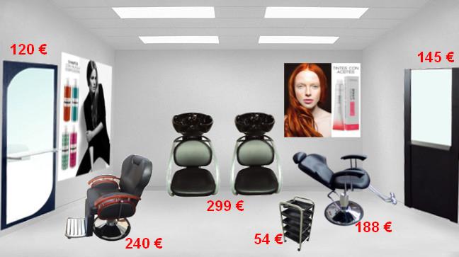 Montaje de peluquería