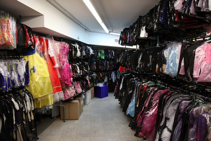 Amplio catálogo de disfraces