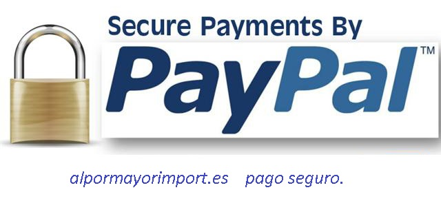 Pago 100 % garantizado PayPal.